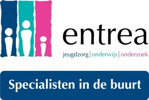 Entrea logo + slogan